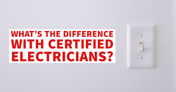 certified electricians